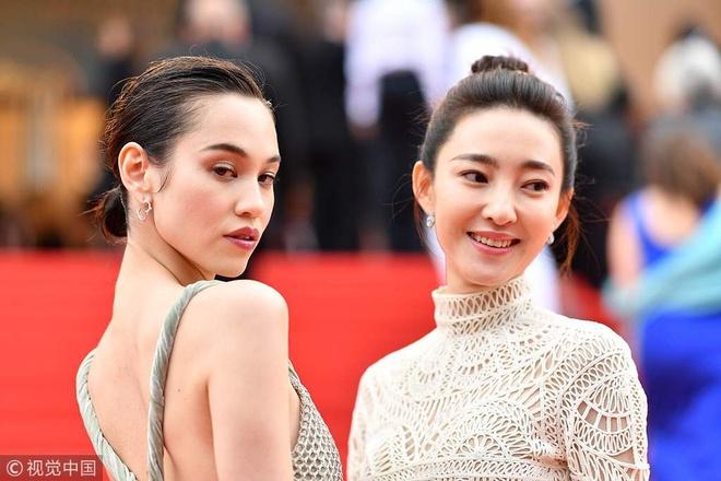 Clip Kiko Mizuhara va Vuong Le Khon tao dang tai Cannes hinh anh