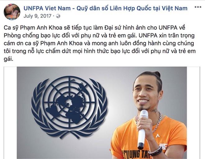 Quy Dan so LHQ tai Viet Nam go toan bo hinh anh Pham Anh Khoa hinh anh 1