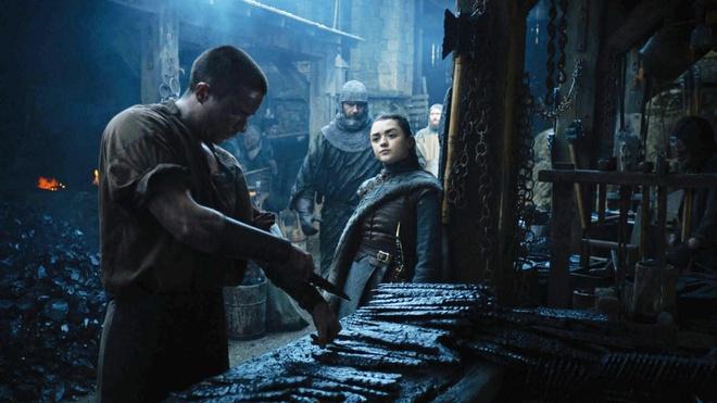 Sao tre noi ve canh sex gay soc cua Arya Stark trong 'Game of Thrones' hinh anh 1