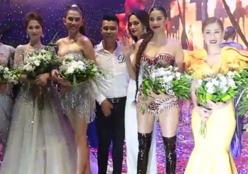 Pham Huong len tieng ve clip tranh cai voi Huong Giang Idol hinh anh 2