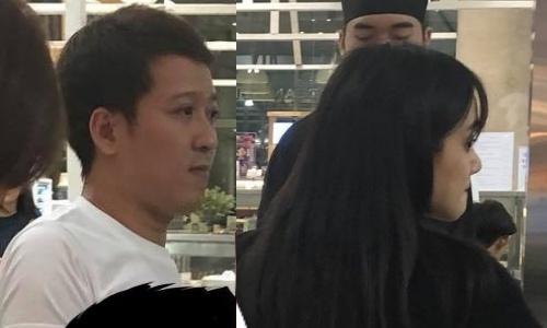 Anh Truong Giang ben Nha Phuong o Thai Lan gay chu y hinh anh