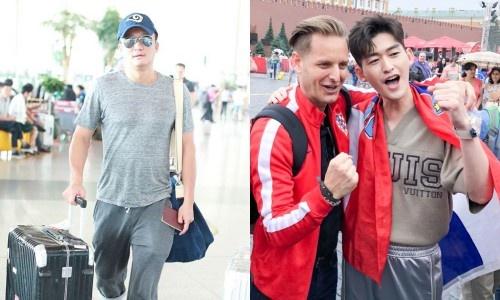 Ngo Kinh bay dem toi Nga, cung dan sao TQ xem chung ket World Cup hinh anh