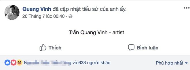 Ca si Quang Vinh lan dau cong bo anh cha ruot anh 2