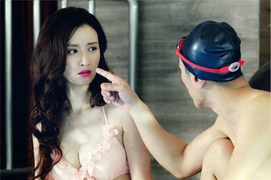 Hoa hau Hoan vu Trung Quoc say thai tren phim truong hinh anh