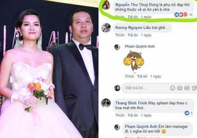 Ong bau Quang Huy tung phan ung the nao voi tin ly hon Pham Quynh Anh? hinh anh 1