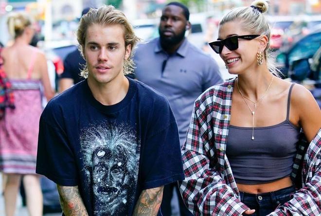 Justin Bieber va hon the di dang ky ket hon hinh anh