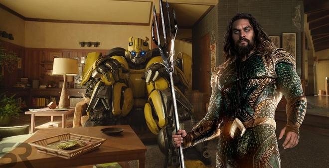 'Aquaman' va 'Bumblebee' se gay that vong dip Giang sinh? hinh anh