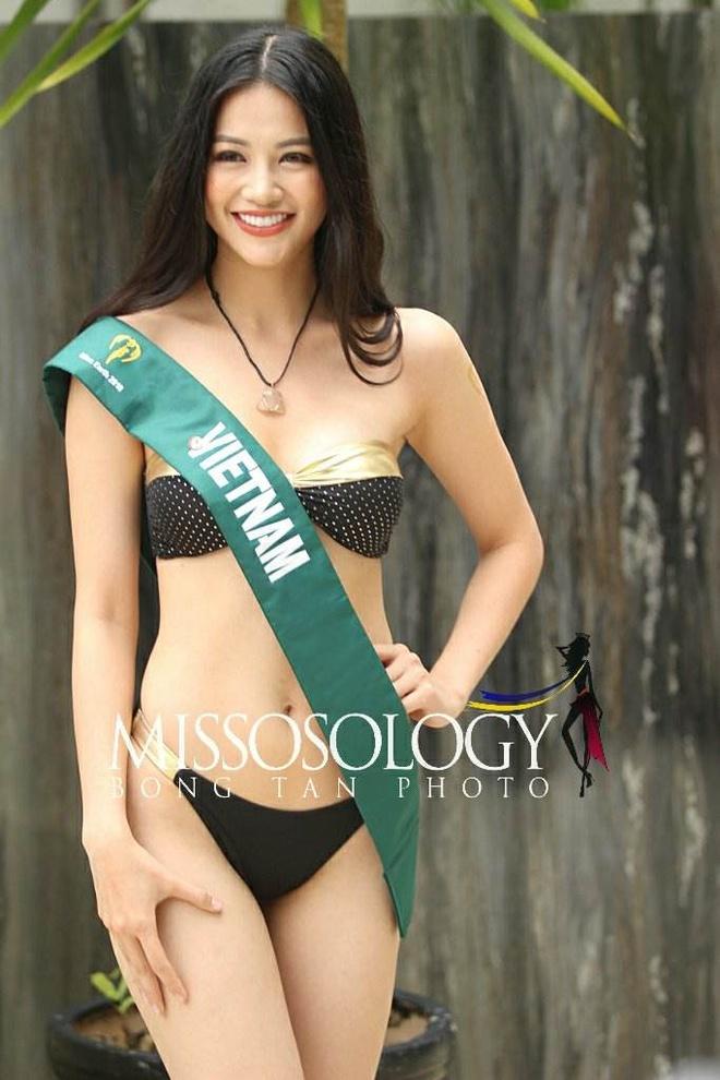 Dai dien Viet Nam gianh giai vang trang phuc dan toc o Miss Earth 2018 hinh anh 2