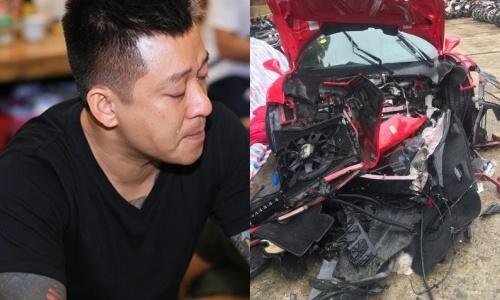 Sieu xe Ferrari vo nat, Tuan Hung noi: 'Khoe manh se lam lai duoc' hinh anh