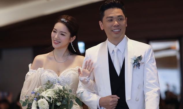 Dan sao Hong Kong du dam cuoi Hoa hau TVB va dai gia hinh anh