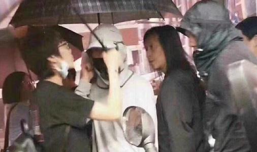 Chau Tinh Tri gay nao loan khi quay phim moi o Tham Quyen hinh anh