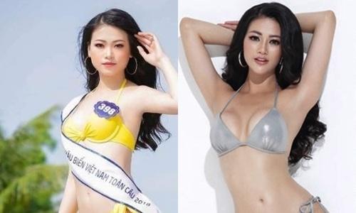 Vong mot Hoa hau Phuong Khanh tang tu 80 len 90 cm trong 6 thang hinh anh