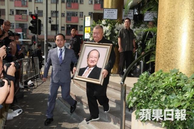 Ty phu Jack Ma va cac nghe si dua Kim Dung ve noi an nghi cuoi cung hinh anh