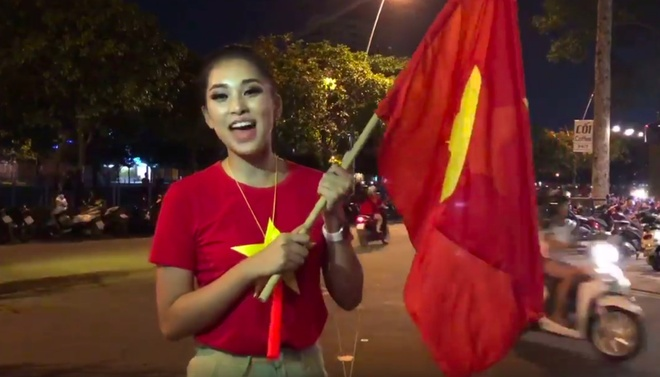 Hang loat sao Viet xuong duong di bao mung chuc vo dich AFF Cup 2018 hinh anh 2