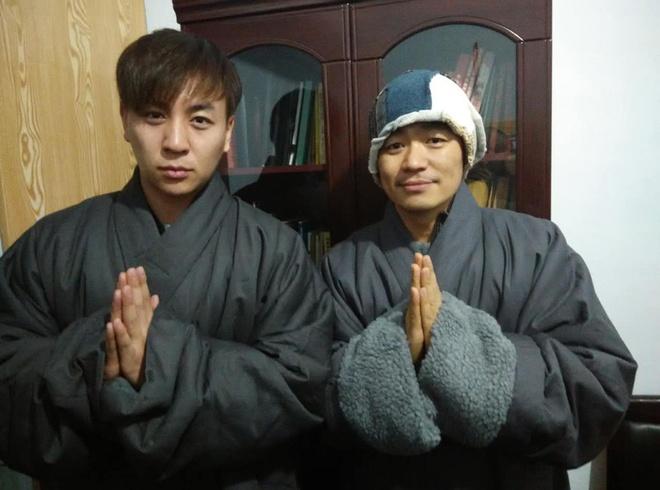 Vuong Bao Cuong xuc dong khi gap 'su thuc Thieu Lam' Thich Tieu Long hinh anh 9