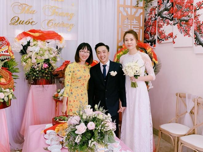 Cuối cùng Cường Đô La cũng hé lộ ảnh cưới với Đàm Thu Trang, không quên kèm theo câu ...