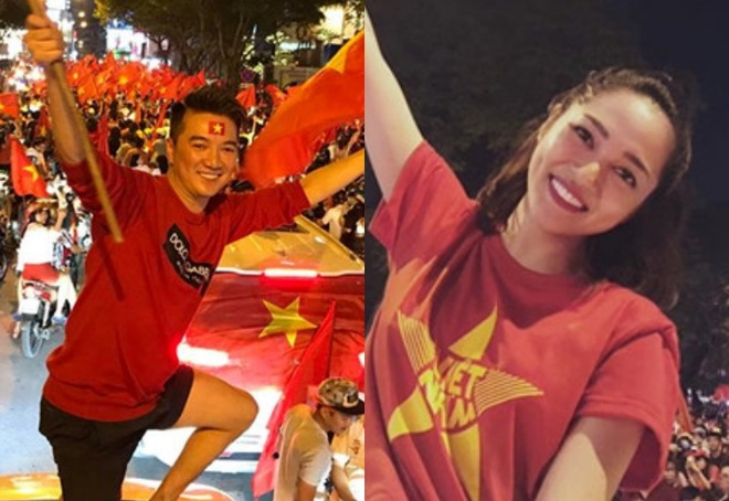 Sao Viet vo oa, ru nhau di bao sau khi Viet Nam vao tu ket Asian Cup hinh anh