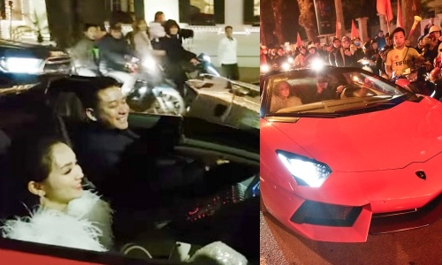 Tuan Hung lai sieu xe di bao mung Viet Nam vao tu ket Asian Cup hinh anh