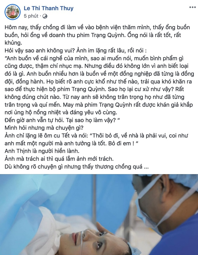 Giua on ao voi Tran Thanh, Duc Thinh tam su that vong ve 1 dong nghiep hinh anh 1