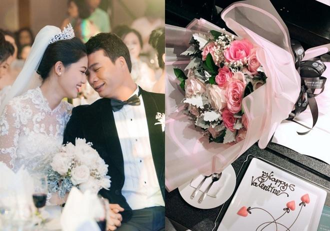 Truong Giang, Nha Phuong va Valentine cua nhung sao Viet moi ket hon hinh anh 10