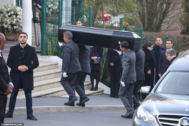 Cong chua Monaco, ban be va dan sao den le hoa tang Karl Lagerfeld hinh anh 1