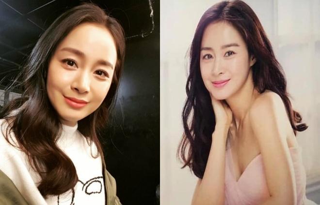 Kim Tae Hee mang bau lan hai anh 2