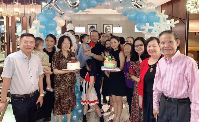 Pham Quynh Anh va Quang Huy ben nhau mung sinh nhat con sau ly hon hinh anh 2
