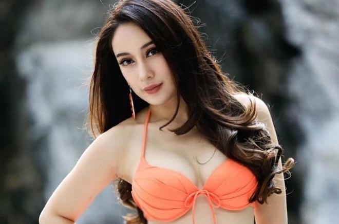 Nguoi dep lo anh phan cam tren xe hoi thanh Miss Earth Thai Lan 2019 hinh anh 1