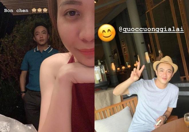 Dam Thu Trang - Cuong Do La khoe anh nghi le, Jun Vu goi cam o Ho Tram hinh anh 1