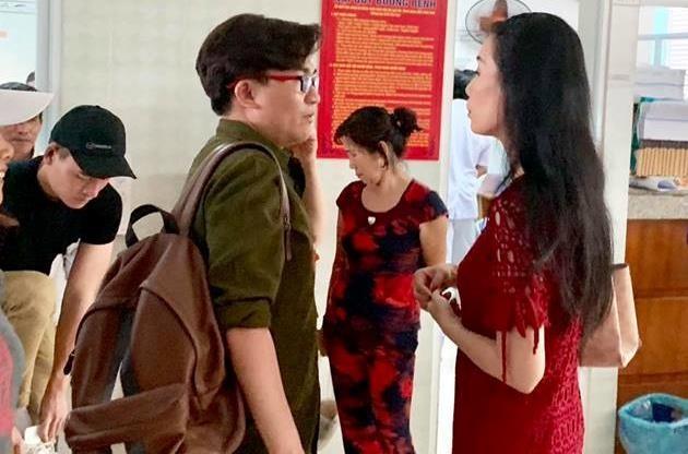 Dai Nghia, Kim Chi trao gan 450 trieu dong giup do nghe si Le Binh hinh anh 2