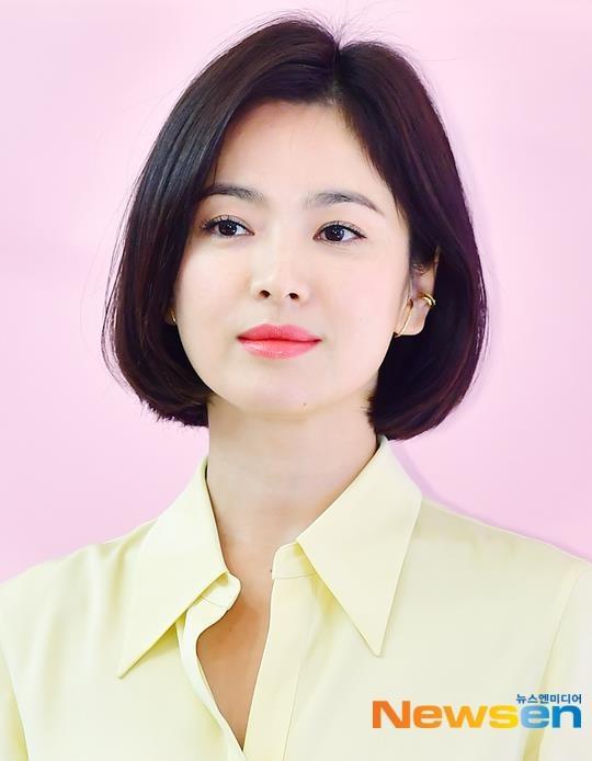 Song Hye Kyo xuat hien tuoi tre, khong phat ngon ve tin ly hon hinh anh 6