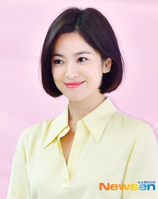 Song Hye Kyo xuat hien tuoi tre, khong phat ngon ve tin ly hon hinh anh 3