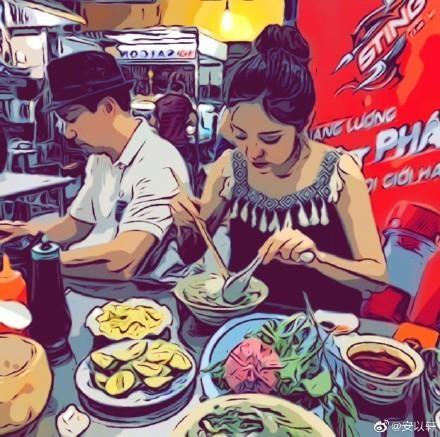 An Di Hien va Tran Vinh Luyen toi Viet Nam anh 1