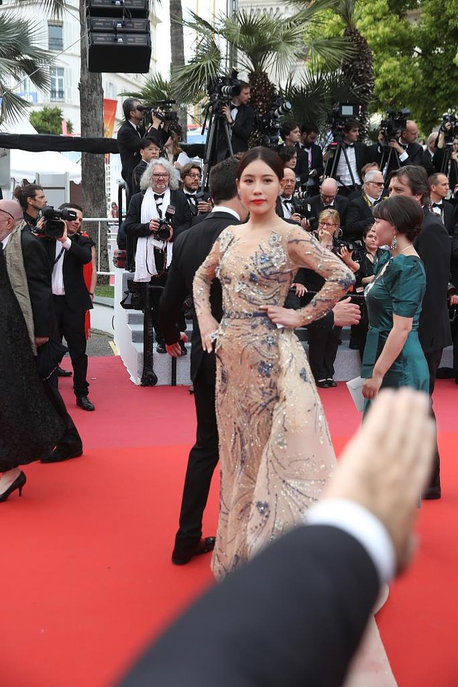 sao trung quoc tren Tham do Cannes 2019 anh 3