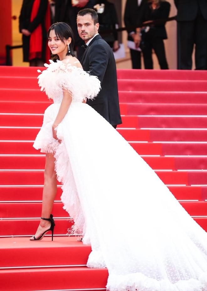 Sao nu Trung Quoc gay chu y o Cannes vi qua giong Song Hye Kyo hinh anh 3