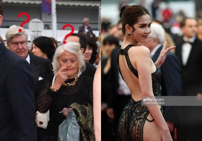 Ngoc Trinh mac phan cam o Cannes anh 3