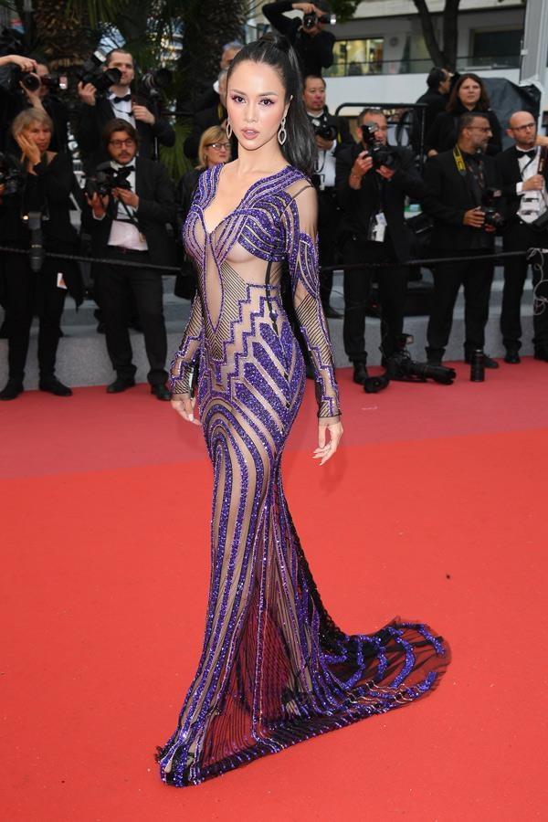 sao Viet tham do Cannes anh 8