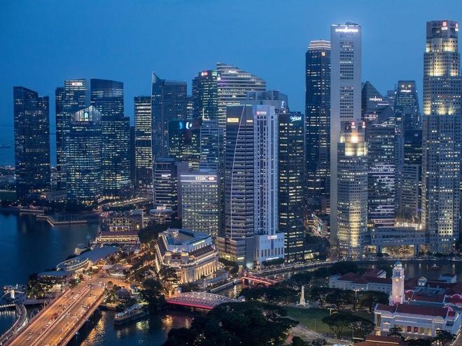 Singapore co the vuot qua Hong Kong anh 1
