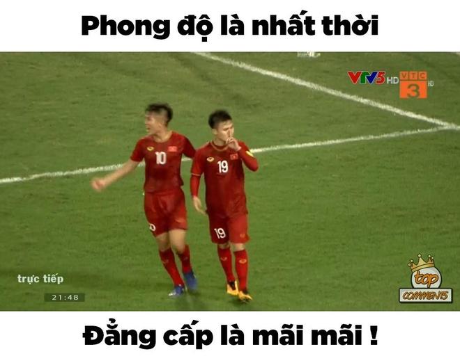 Anh che Bui Tien Dung 'khong co gi de bat' trong tran gap U23 Brunei hinh anh 8