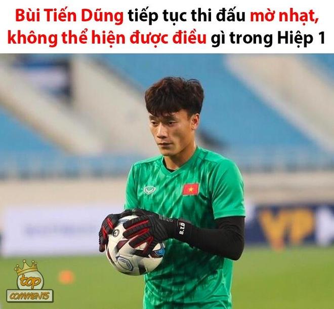 Anh che Bui Tien Dung 'khong co gi de bat' trong tran gap U23 Brunei hinh anh 4