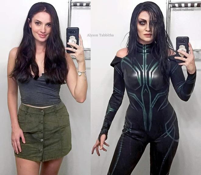 Nu cosplayer hoa trang y het ban goc, den than thai cung giong 100% hinh anh 2