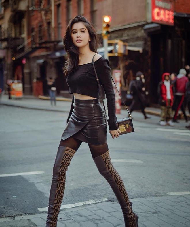 Ve ngoai goi cam cua co gai duoc goi la Angelina Jolie Thai Lan hinh anh 2
