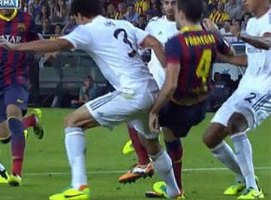 Tinh huong triet ha Fabregas cua Pepe hinh anh