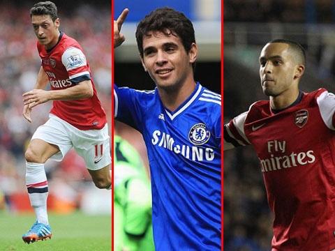 Doi hinh trong mo ket hop giua Arsenal va Chelsea hinh anh