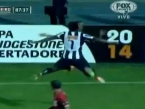 Man an mung kieu 'nhap the' cua Ronaldinho hinh anh