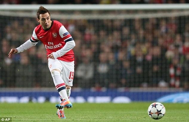 Arsenal troi chan Cazorla den nam 2017 hinh anh