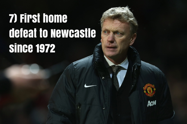 7.Kể từ năm 1972, đây mới là lần đầu tiên M.U thua Newcastle trên sân nhà Old Trafford.