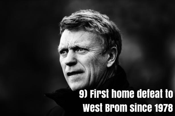 9.Lần đầu tiên thua sân nhà trước West Brom kể từ năm 1978.