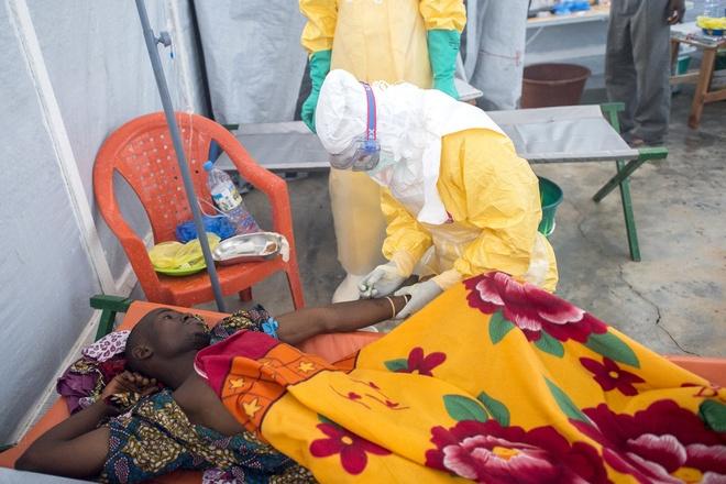 Qua trinh tan pha co the nguoi cua virus Ebola hinh anh