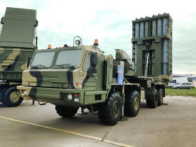 S-35 Vityaz là hậu duệ của hệ thống phòng không S-300